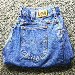 Lee High Waisted Mom Jeans